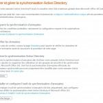 Configurer et gérer la synchronisation Active Directory